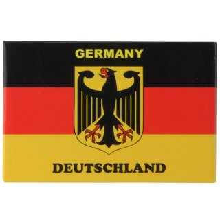 Magnet Deutschland-Flagge mit Adler