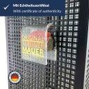 Kühlschrank-Magnet ORIGINAL Berliner Mauer-Stein mit...