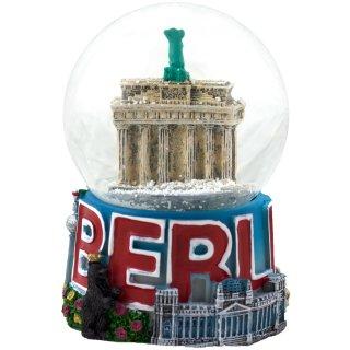 Schneekugel Berlin Bunt