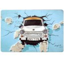 Magnet Trabant through the wall