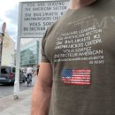 T-Shirt US ARMY Checkpoint Charlie, oliv