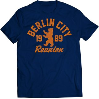 T-Shirt Berlin City 1989 Reunion