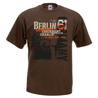 T-Shirt Berlin Checkpoint Charlie The Wall 61
