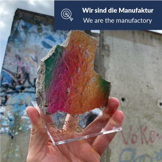 Berlin Wall stone with certificate of authenticity