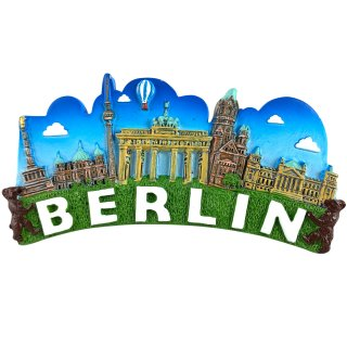 3D Magnet Berlin | Blue Skyline