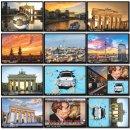 Berlin Postkarten Set | 12er und 25er Pack