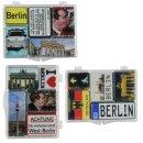 Magnet-Set (je 5-teilig) mit BERLIN Motiven, mini