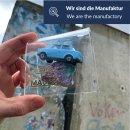 Trabant on Berlin Wall stone