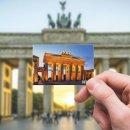 Kühlschrank-Magnet BERLIN Fotomagnete einzeln