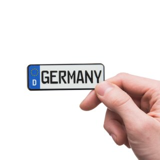 Magnet number plate GERMANY