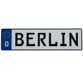 Magnet Nummernschild BERLIN