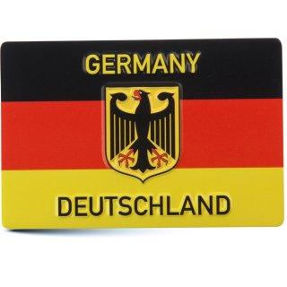 Magnet Deutsche Flagge mit Adler