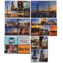 Set of 6 refrigerator magnets Berlin, photo magnets