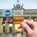 Set of 6 refrigerator magnets Berlin, photo magnets