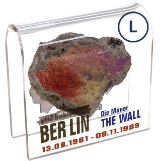 Berliner Mauer-Stein mit Echtheitszertifikat