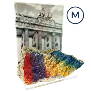 Berlin Wall Stone Display
