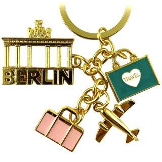 Schlüsselanhänger Berlin Souvenirs Travel Charms