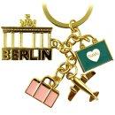Keychain Berlin souvenirs, skyline, gift