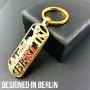 Schlüsselanhänger Berlin Souvenirs, Geschenk, Mitbringsel für Paare, Keychain passend für Taschen, Rucksäcke, Autoschlüssel, Koffer