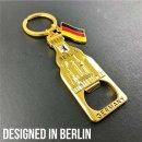 Keychain bottle opener Berlin souvenirs, gift - metal