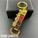 Schlüsselanhänger Flaschenöffner BERLIN Souvenirs, Metall