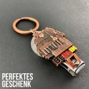 Keychain nail clipper and bottle opener Berlin souvenirs, gift