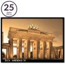 25x postcard Berlin Brandenburg Gate