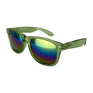 Clear: Green / Rainbow