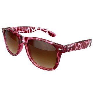 Clear: Leo pink / brown