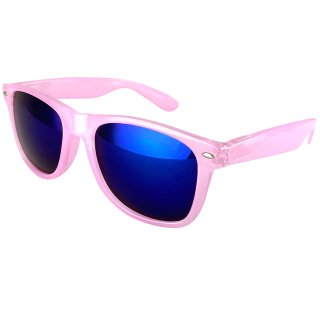 Clear: Pink / Blue