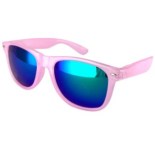 Clear: pink / green-blue