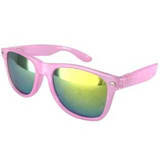Clear: Pink / Green