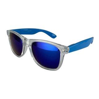 Clear: Transparent light blue / blue