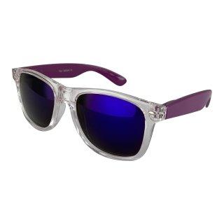 Clear: Transparent purple / blue