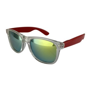 Clear: Transparent Red / Green