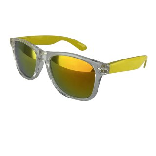 Clear: transparent yellow / orange