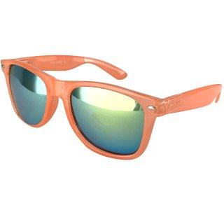 Clear: transparent-orange / green