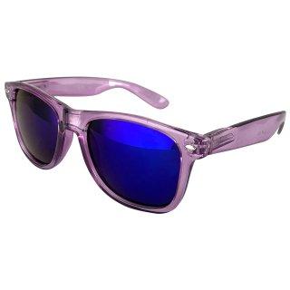 Clear: Purple / Blue