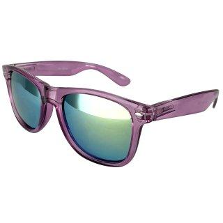 Clear: Purple / Green
