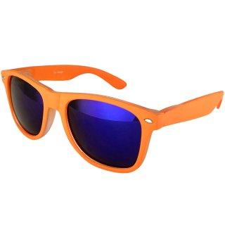 Matt: Orange / Blue
