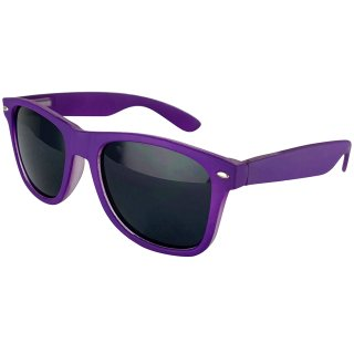Matt: Purple / Black