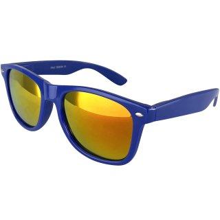 Lacquer: dark blue / orange