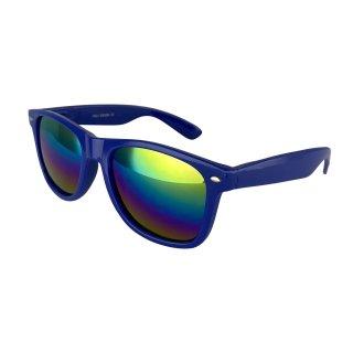 Lacquer: Dark blue / Rainbow