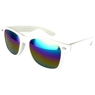 Matt: White / Rainbow