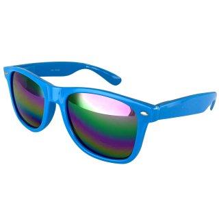 Lacquer: Light blue / Rainbow