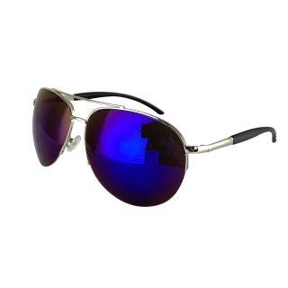 silver / blue-purple