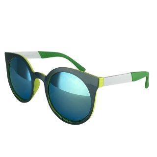 Dark green-white-green / green