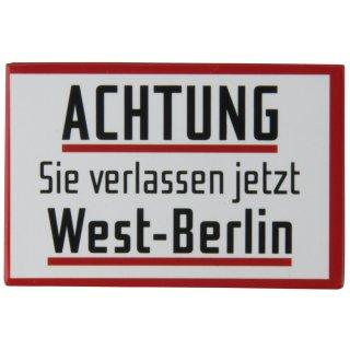Achtung Schild FM40